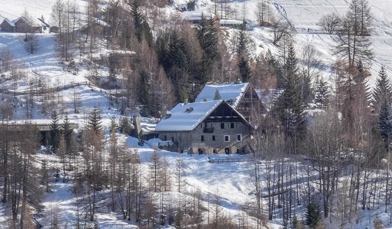 Villa avec jardin et terrasse Sauze di Cesana