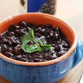 Copycat Chipotle Black Beans.