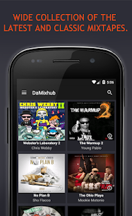 DaMixhub (Free Mixtapes)- screenshot thumbnail