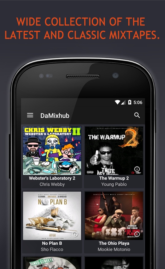 DaMixhub (Free Mixtapes)- screenshot