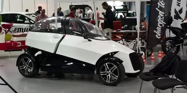 Городской электромобиль 4ekolka — напечатанный на 3D-принтере
