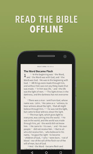 Message Bible by Olive Tree screenshot 1