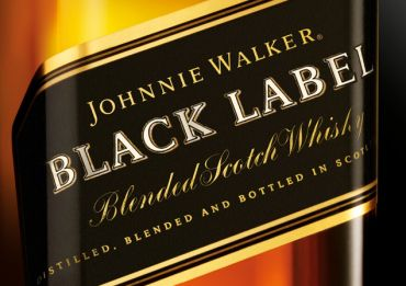 Logo for Johnnie Walker Black Label