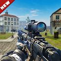 Gun Strike Battleground Fire - Free Shooting Games icon