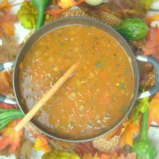 Bison Pozole Soup.