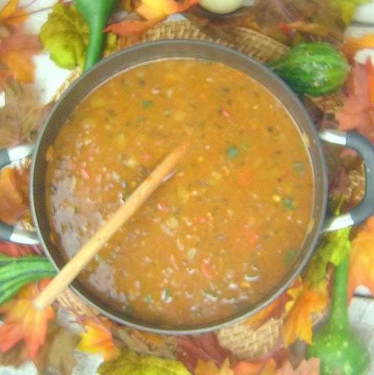 Bison Pozole Soup
