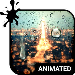 Rainy Night Animated Keyboard for PC