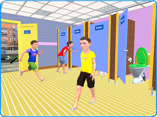 Kids Toilet Emergency Pro 3D android2mod screenshots 14