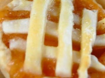 Baby Nectarine Peach Pies Recipe