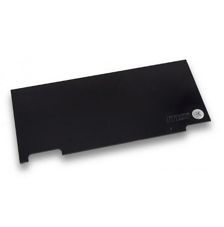 EK bakplate for EK-FC1080 GTX TF6 Backplate, sort