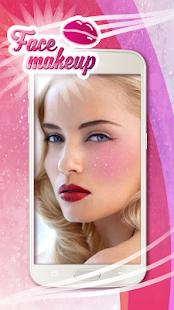 Face Makeup App Photo Sticker - náhled