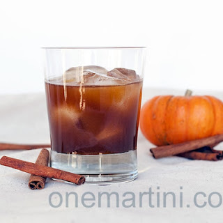 Naughty Pumpkin Cocktail