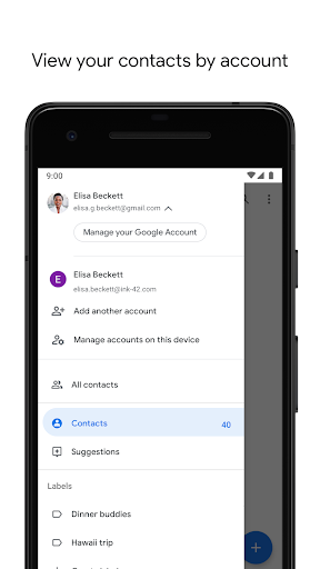 Contacts 3.1.6.218196352 screenshots 3
