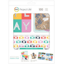 Project Life Value Kit 100/Pkg - Hopscotch UTGÅENDE