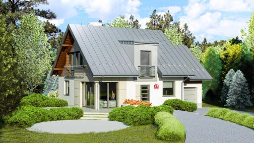 projekt Dom przy Cyprysowej 21