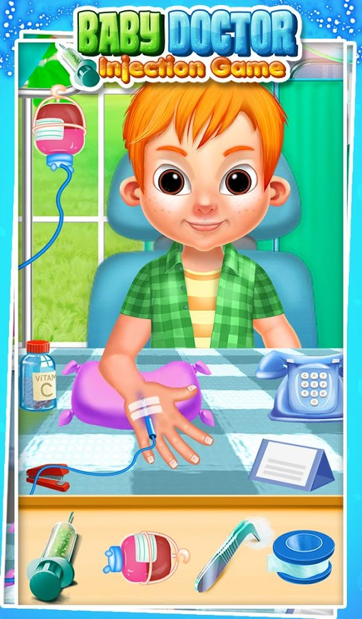 Baby Doctor Injection Game- screenshot