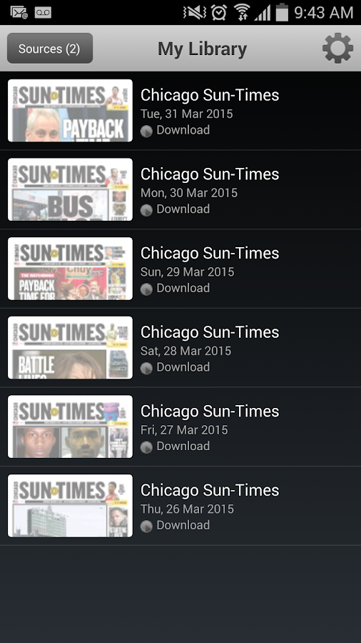Read today's Chicago Sun-Times newspaper anytime, anywhere with the Chicago Sun-Times E-Paper app. Never miss a day of breaking news and sports from the.
