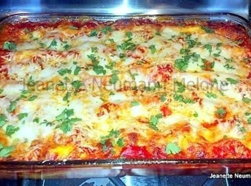 Easy Manicotti Recipe