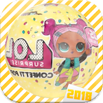 Dolls Surprise Opening Eggs LQL 2018 Hachinals Icon