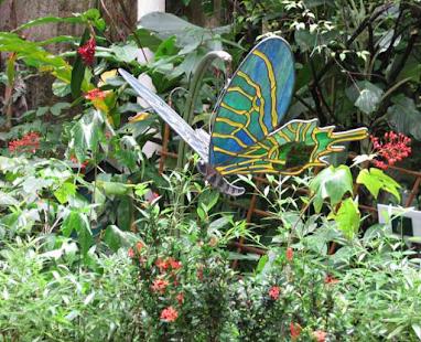outdoor butterfly garden design screenshot thumbnail