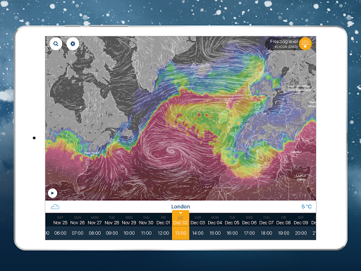 Ventusky: Weather Maps screenshot 22