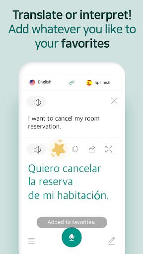 Talking Translator - Ultra-Simple Translation screenshots 5