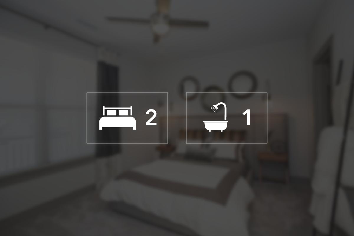 Two bedroom floorplan 2 bed 1 bath palestine commons - One bedroom apartments kansas city mo ...