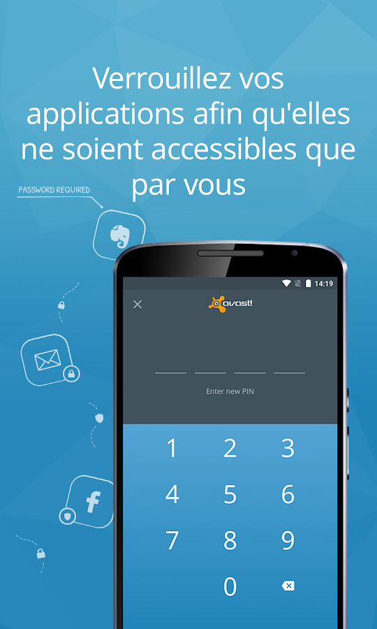 Mobile Security & Antivirus – Capture d'écran