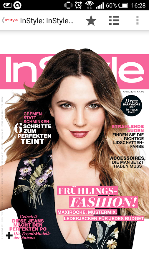InStyle Mag Germany- screenshot