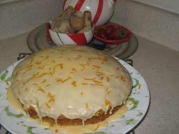 Carrot Tea Cake