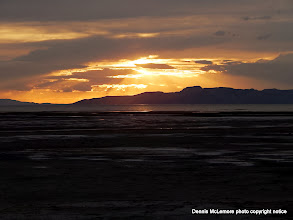 Photo: Sunset at Great Salt Lake
