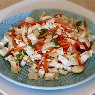 Asian Salad with Honey-Sesame Dressing