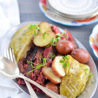 The Best Corned Beef and Cabbage.