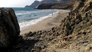 Imagen de archivo de la playa de El Barronal.