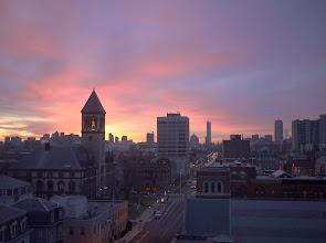 Photo: Sunrise, Cambridge MA, Feb 14 2012