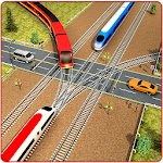 Indian Train City Pro Driving : Train Game Icon