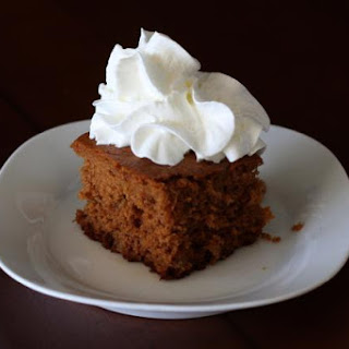 Gingerbread Cake With Crystallized Ginger