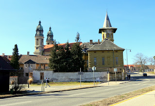 Photo: Centrum a Gróf út felől.