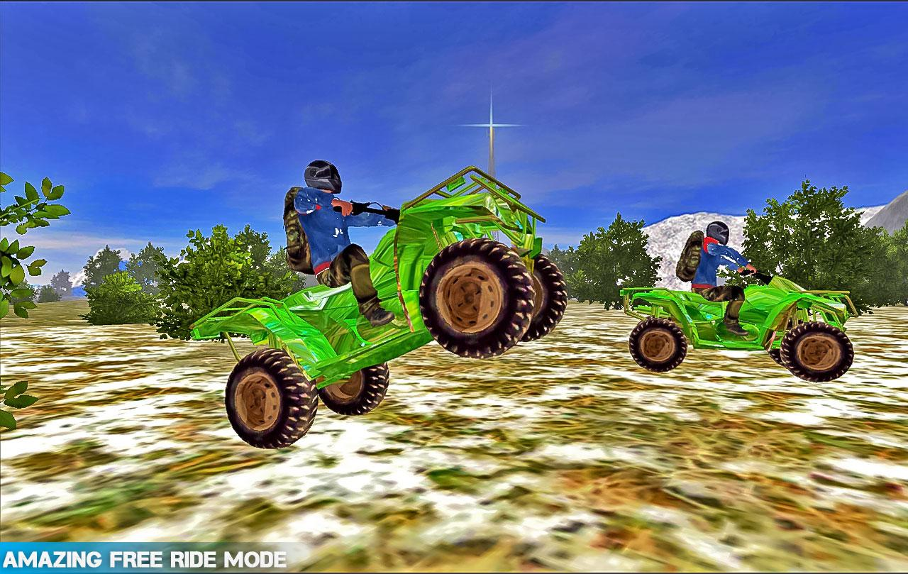 Extreme Stunt Quad Bike Racing- screenshot
