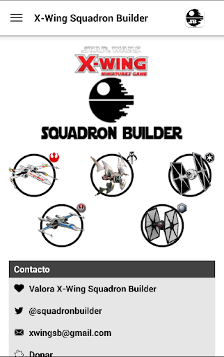 X-Wing Squadron Builder