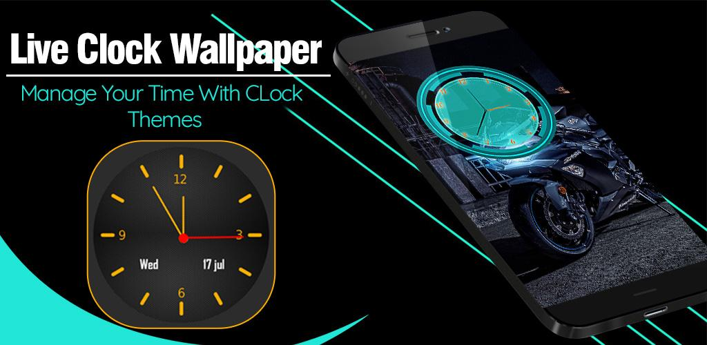 Download Analog Clock Live Wallpaper 2019 APK latest version app for