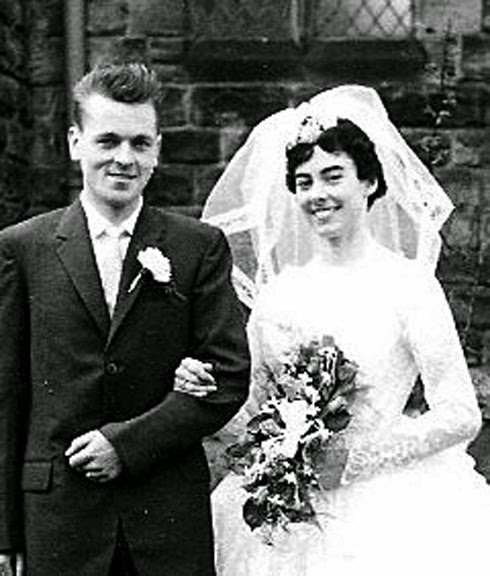 Photo: Margaret & Don Lavery 4th March 1961