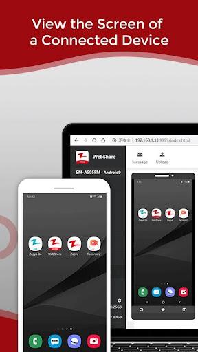 Zapya WebShare - File Sharing in Web Browser 2.0.6 Screenshots 5