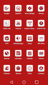 Azer Red - Icon Pack screenshot 3