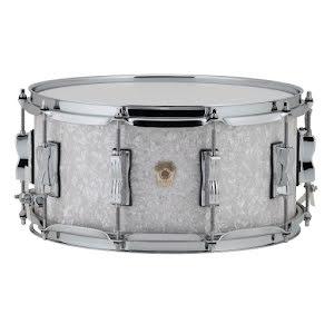 "14"" x6,5"" Ludwig Classic Maple - LS403 - White Marine Pearl"