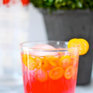 Kumquat Cranberry Margaritas.