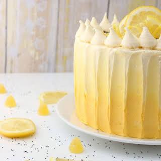 Lemon Sunshine Cake.