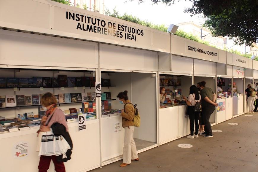 Stand del Instituto de Estudios Almerienses.