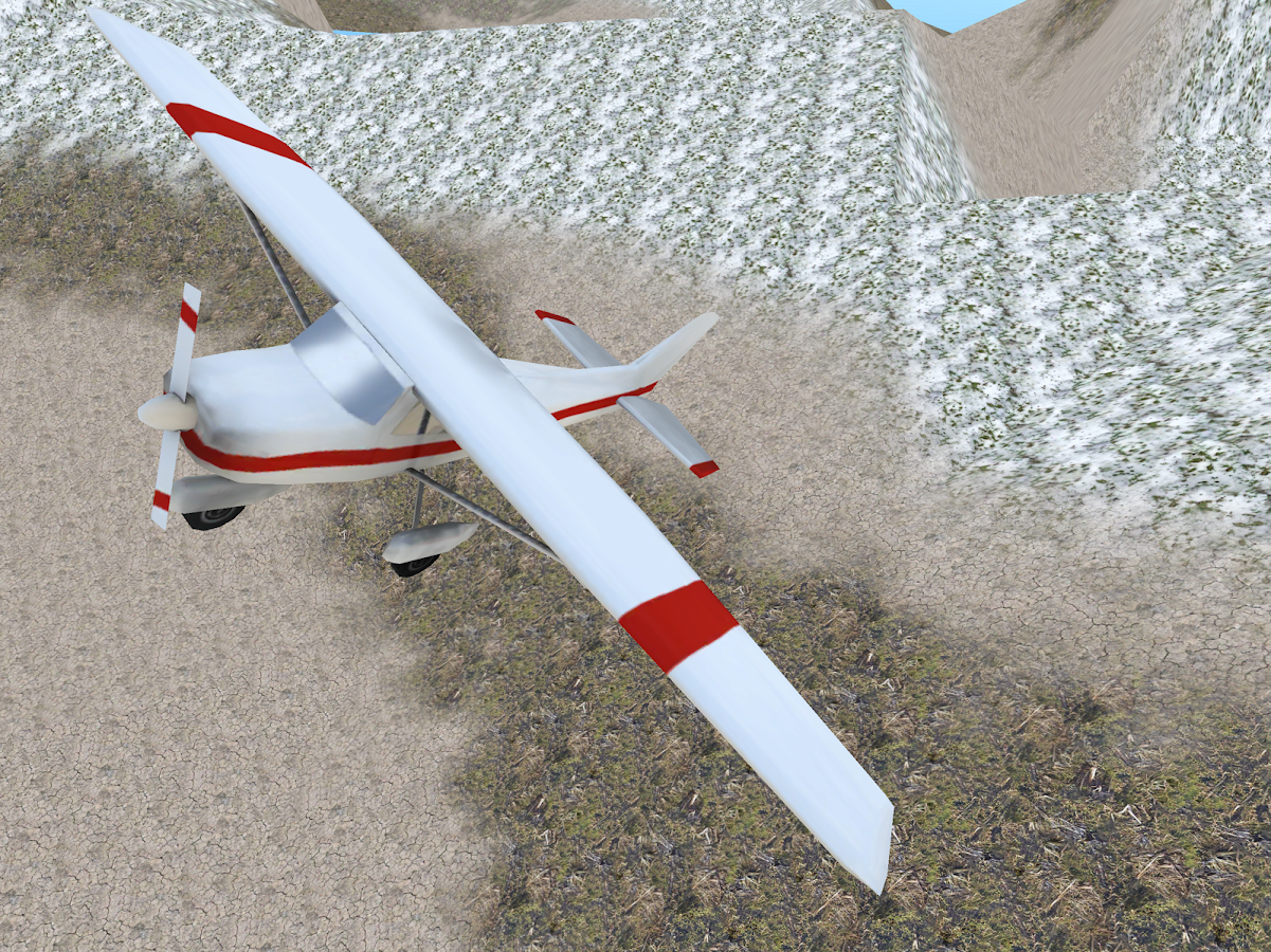 how to fly in google flight simulator