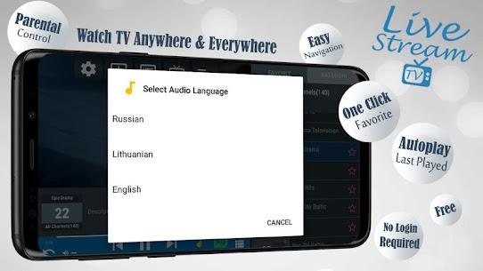 Descargar Livestream TV – M3U Stream Player IPTV para PC ✔️ (Windows 10/8/7 o Mac) 1